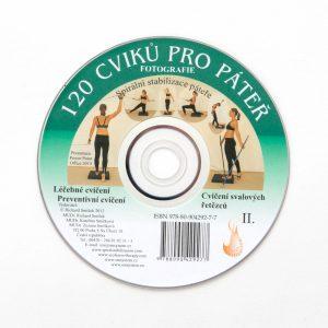 CD 120 cviků pro páteř