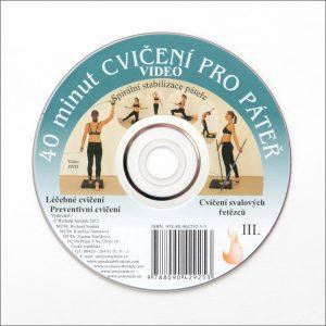 DVD 40 cviků pro páteř